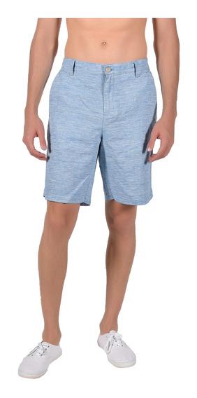 Short Regular Fit Chaps Azul 750711459-32a2 Hombre