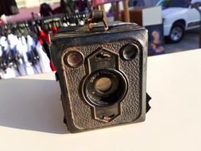 Câmera Analógico Antiga Goerz Frontal Box Tengor P/ Enfeite