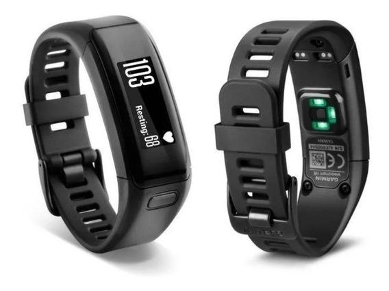 Pulseira Smartband Garmin Vivosmart Hr Monitor Cardiaco