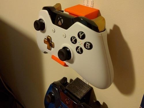 Soporte Pared Para Joysticks Xbox One / Wii U / Ps4