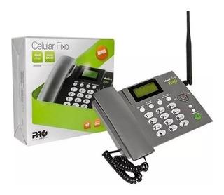 Telefone Celular Rural Mesa 2 Chip Quad Band Pro Procd-6010