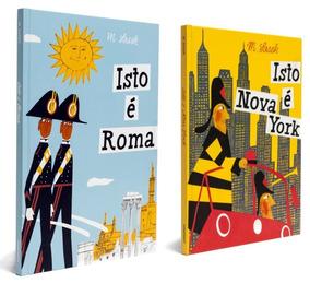 Livros Coleção Isto É Roma & Nova York Cosac Naify M. Sasek