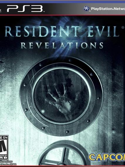 Ps3 Resident Evil Revelations   Play 3 Psn Jogo Envio Já