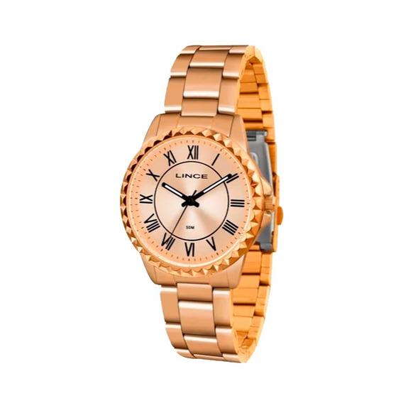 Relógio Feminino Lince Rosé