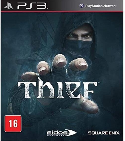 Game Play3 - Thief - Semi-novo Jogo Ps3