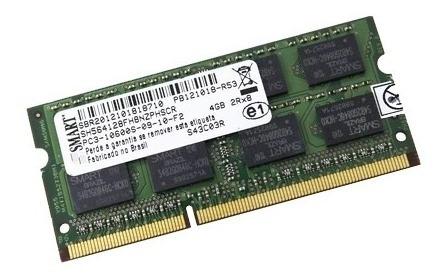 Memória Ram Smart 4gb 2rx8 Pc3 10600s Sh564128fh8nzphscr