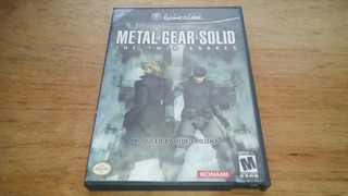 Metal Gear Solid The Twin Snakes Game Cube