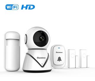 Camara De Seguridad Wifi Ip + Alarma + Grabacion Nube