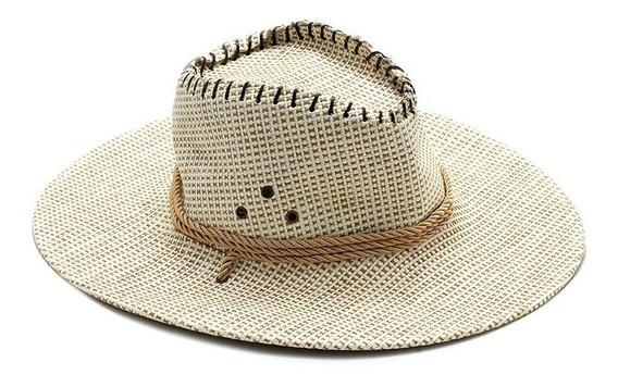 Sombrero De Cowboy Entrelazado Con Cordon Verano
