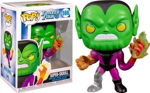 Funko Pop Marvel Los 4 Fantasticos Super Skrull 566 Original