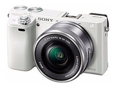 Sony Alpha Mirrorless Câmera Digital Com 16-50mm Power Zoom