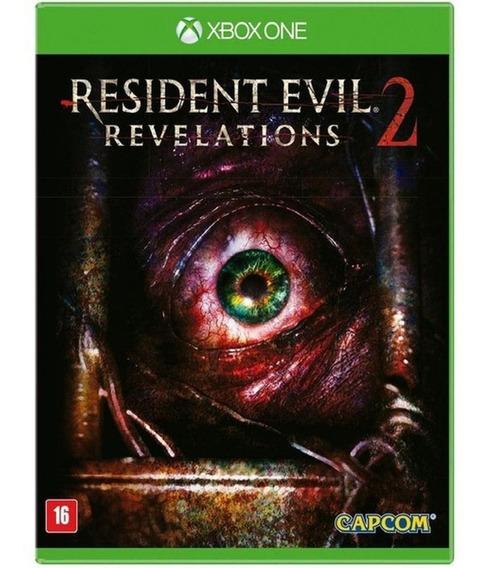 Resident Evil Revelations 2 Xbox One Português Mídia Física