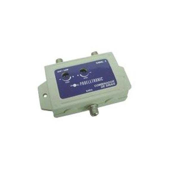 Combinador De Sinais Vhf + Ch3 Pqcb 2003 Pro Eletronic