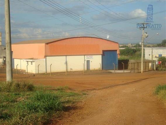 Barracão Comercial Para Venda E Locação, Santa Terezinha, Paulinia - Ba0002. - Ba0002