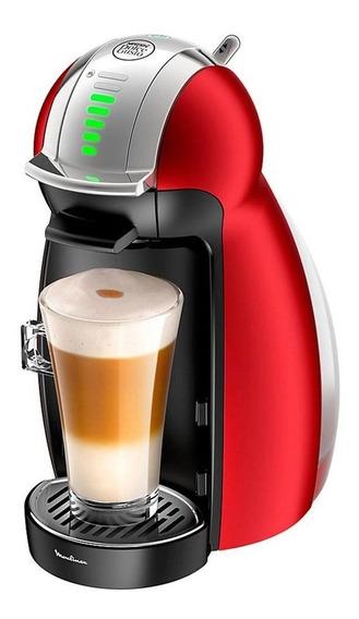 Cafetera Nescafé Moulinex Dolce Gusto Genio 2 Roja 220V