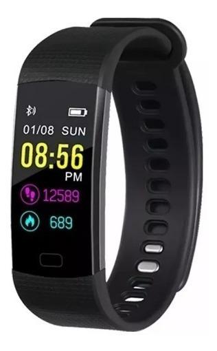 Relógio Smartband Y5 Goral Pressão Arterial Pulseira