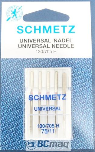 Imagem 1 de 1 de 05 Pacotes - Agulha Schmetz Embroider 75/11 H Universal