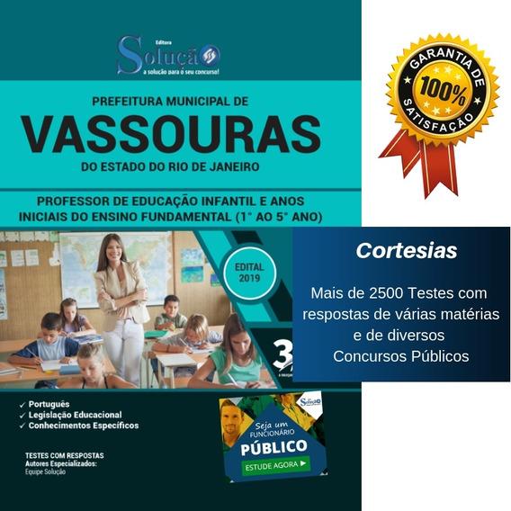 Apostila Prefeitura Vassouras - Professor Ensino Fundamental