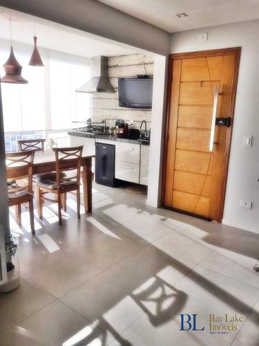 Imagem 1 de 15 de Apartamento Com 84m² - 3 Dorms - Varanda Gourmet!!cond. Barceloneta!! - Ap00799m