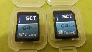 2 Memorias 64gb Clase 10 Sct Sdxc
