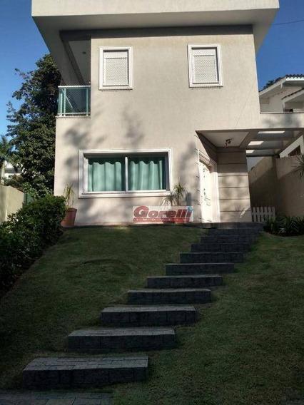 Casa Com 4 Dormitórios À Venda, 200 M² Por R$ 870.000 - Condomínio Arujazinho Iv - Arujá/sp - Ca1454