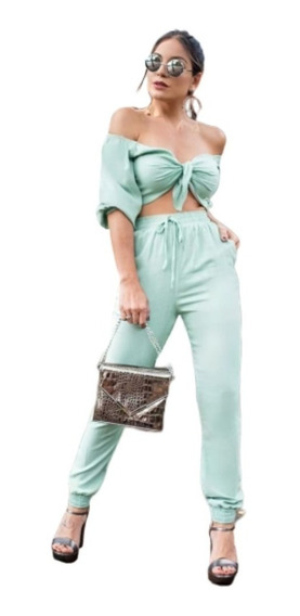Conjunto Feminino Moda Bloguerinha Promoção No Frete