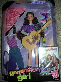 Muñeca Barbie Original Generación Niña Chelsie 3 Anillos Ore