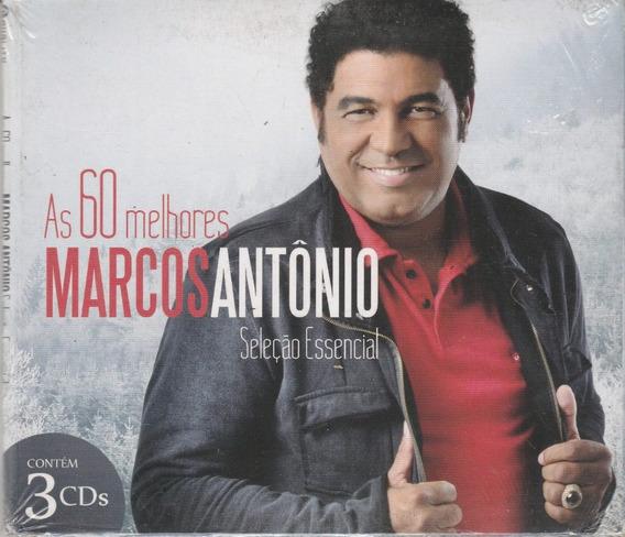 Marcos Antonio - Cd As 60 Melhores - 3 Cds - Lacrado
