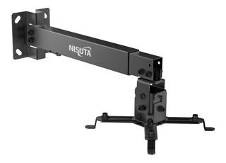 Soporte Nisuta Proyector De Techo Corto 12 A 65cm 20kg