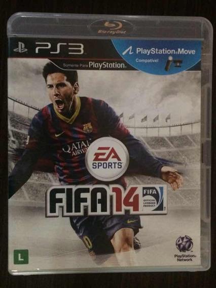 Jogo Fifa 14 - Playstation 3 (mídia Física)