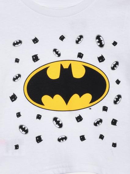 Playera Para Bebé Batman Comic 100% Algodón