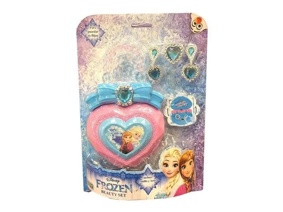 Bolso Niña Frozen Disney Set Con Accesorios Ditoys