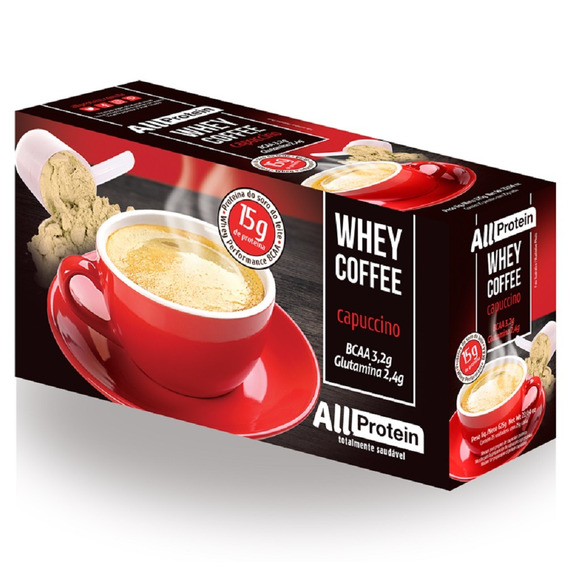 Whey Coffee Cappuccino 25 Un De 25g - 625g All Protein