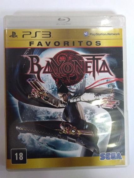 Jogo Bayonetta Ps3 Mídia Fisica R$49,90