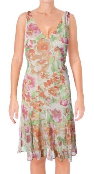 Vestido De Fiesta Casual Gasa Floral Ralph Lauren Serenity