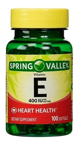 Antioxidante Vitamina E Spring Valley Certificado Natural
