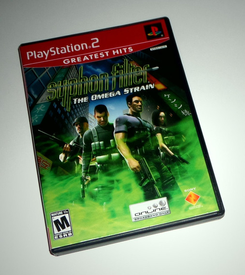Syphon Filter: The Omega Strain Original - Ps2
