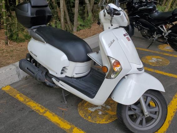 Kymco Like 125 Blanca Modelo 2012