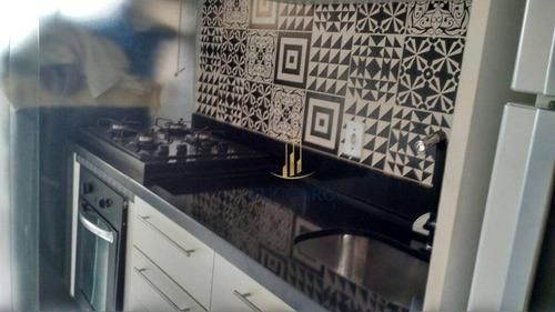 Estuda Permuta Em Casa - Apartamento Com 3 Dormitórios À Venda, 54 M² Por R$ 285.000 - Ponte Grande - Guarulhos/sp - Ap16052