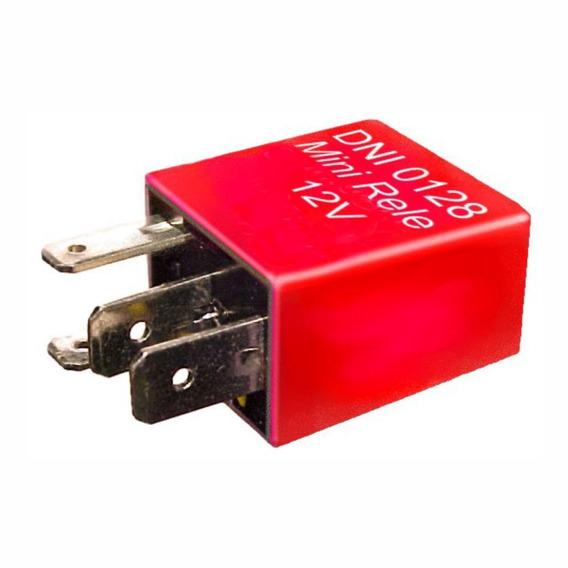 Mini Relé Auxiliar 90608807 Gm 4 Terminais - Dni 0128