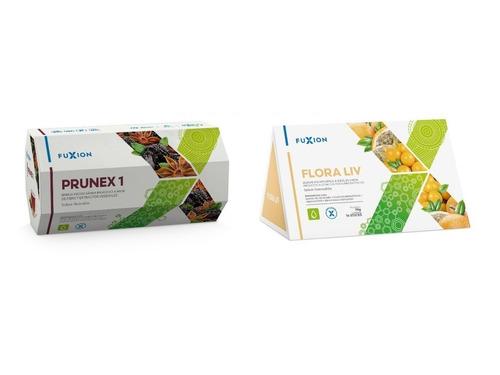 Kit Detox Fuxion | 5 Prunex + 5 Floraliv | Desintoxica Colon
