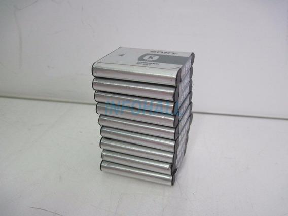 No Estado Lote Com 9 Baterias Sony Mp-bk1