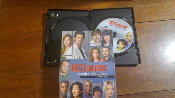Greys Anatomy Box Terceira Temporada