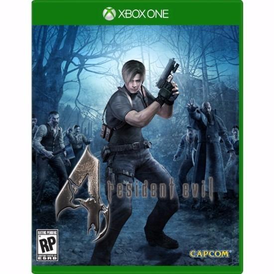 Jogo Mídia Física Resident Evil 4 Para Xbox One Frete Grátis
