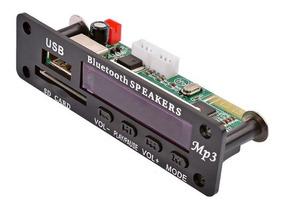 Placa Decodificador Mp3 Lcd /usb/sd/bluetooth/fm5-12v-oferta