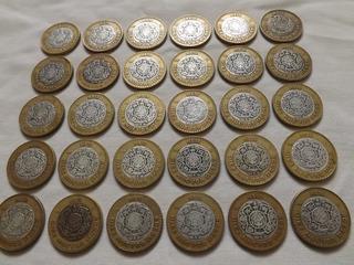 1 Pieza N$10 Nucleo De Plata, Años Disponibles 1992, 1993