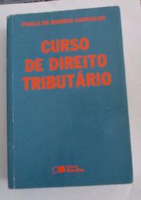 Curso De Direito Tributário - 15ª Edição 2003 Revista E Atua
