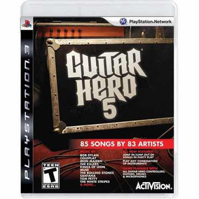 Guitar Hero 5 Semi-novo Ps3