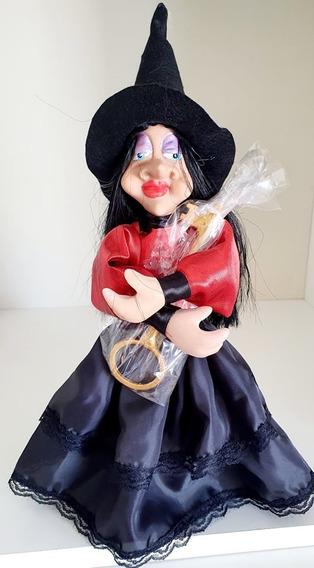 Ana A Bruxa Protetora Do Lar+colar De Bruxa