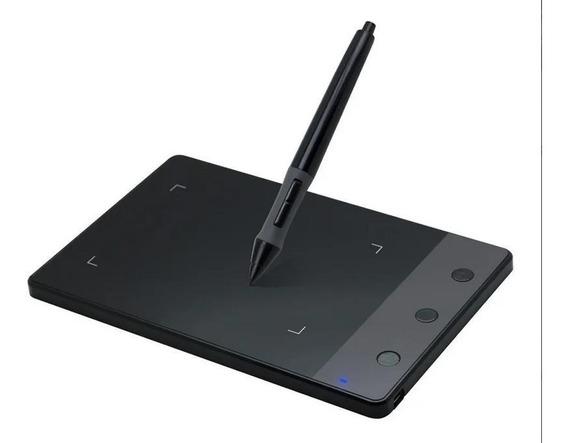 Tablet Para Desenho Gráfico Huion H420 Usb Com Caneta